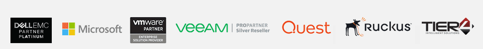 Compushop partner logos